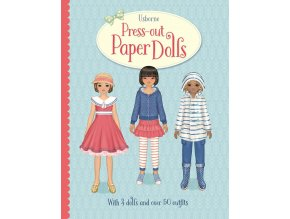 Press out Paper Dolls 1