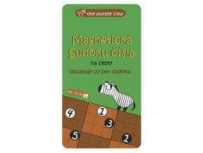 Magnetická hra Sudoku čísla na cesty 1