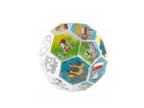 Monumi Skládací fotbalový míč k vymalování 1