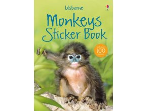 Monkeys sticker book