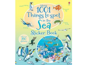 1001 things to spot in the sea sticker book 1