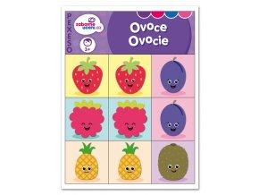 Zábavné učení Pexeso Ovoce 1