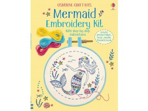 Embroidery kit Mermaid 1