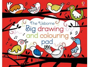 Big drawing and colouring pad 1