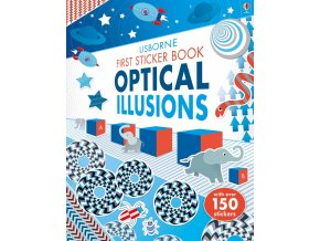 First Sticker Book Optical Illusions 1
