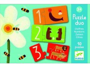 Duo puzzle Čísla 1 DJ08151B