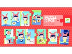 Puzzle trio Denní činnosti 1 DJ08179B
