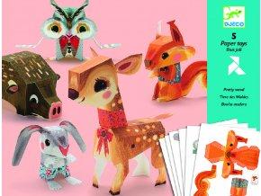 Origami Lesní zvířátka 2 DJ09674B
