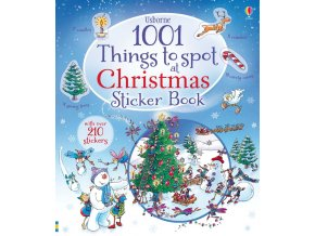 1001 things to spot at Christmas sticker book 1