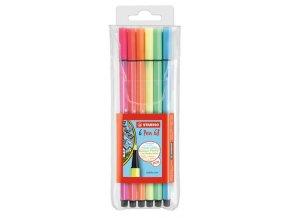 STABILO Pen 68 - fixy s neonovými barvami (6 ks/15 ks)