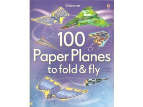 100 Paper Planes to fold&fly vzorek 1