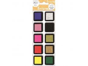 Aladine StampoPlanner, razítkovací inkousty, 10 ks, blister