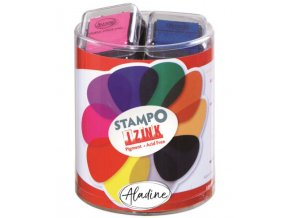 Razítkovací polštářky StampoColors, základní barvy 1