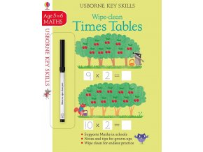 Wipe clean times tables 5 6 1