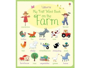 My first word book On the farm 1