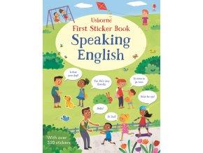 First Sticker Book Speaking English 1