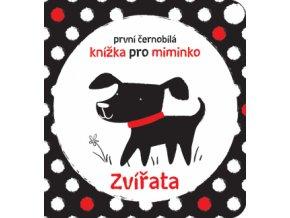 První černobílá knížka pro miminko Zvířata 1