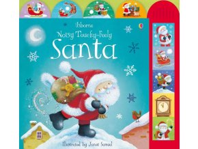 Noisy touchy feely Santa 1