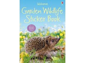 Garden wildlife sticker book 1