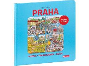 PRAHA – Puzzle, omalovánky, kvízy 1