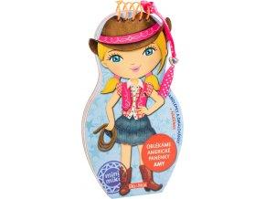Oblékáme americké panenky AMY omalovánky 1