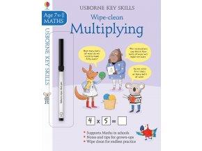 Wipe Clean Multiplying 7 8