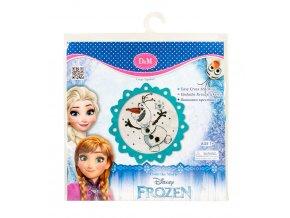 FROZEN vyšívání OLAF