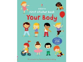 First sticker book Your Body 1