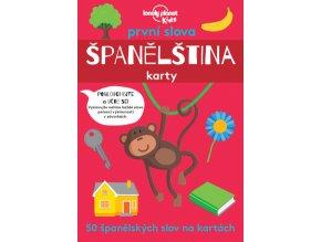První slova Španělština karty 1