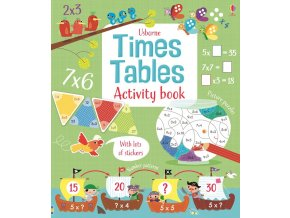Times tables activity book 1