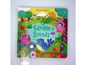 Garden Sounds poškozená kniha