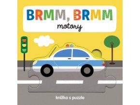 BRMM, BRMM motory Knížka s puzzle 1