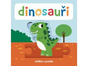 Dinosauři Knížka s puzzle 1