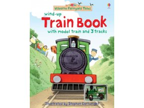 Farmyard Tales wind up train book