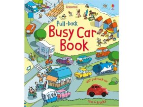 Pull back busy car book 1