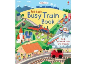 Pull back busy train book 1