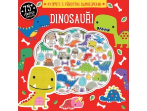 Dinosauři aktivity s pěnovými samolepkami 1