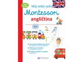 Můj velký sešit Montessori angličtina 1