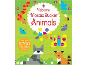Mosaic sticker animals 1