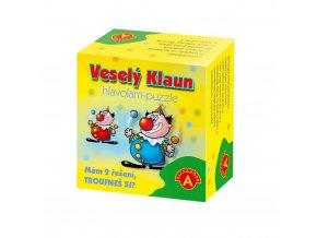 Hlavolam puzzle Veselý klaun 1