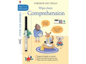 Wipe Clean Comprehension 7 8