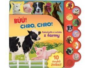 Búú! Kva kva Chro chro Poslechněte si zvířata z farmy 1