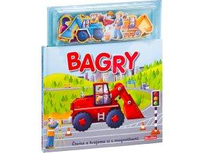 BAGRY ─ Knížka s magnetkami 1
