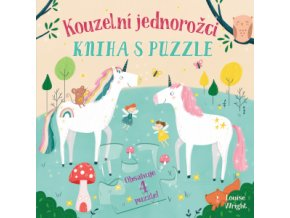 Kouzelní jednorožci Kniha s puzzle 1