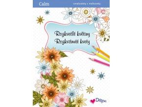 CALM relaxační omalovánky Rozkvetlé květiny 1