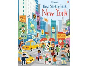 First sticker book New York 1