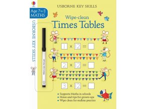 Wipe clean times tables 7 8 1