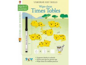 Wipe clean times tables 6 7 1