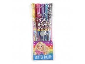 Top Model Glitter Roller gelová pera se třpytkami