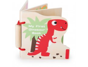 My First Dinosaurs Wooden Book 1